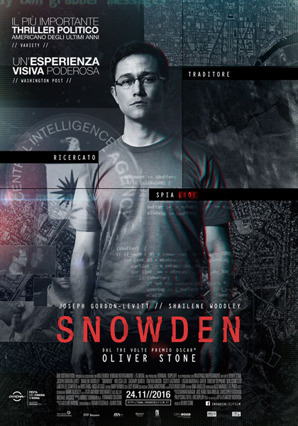 Snowden - CINEMA2DAY *