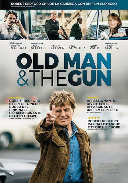 Old Man & the Gun (tratto da una storia vera)
